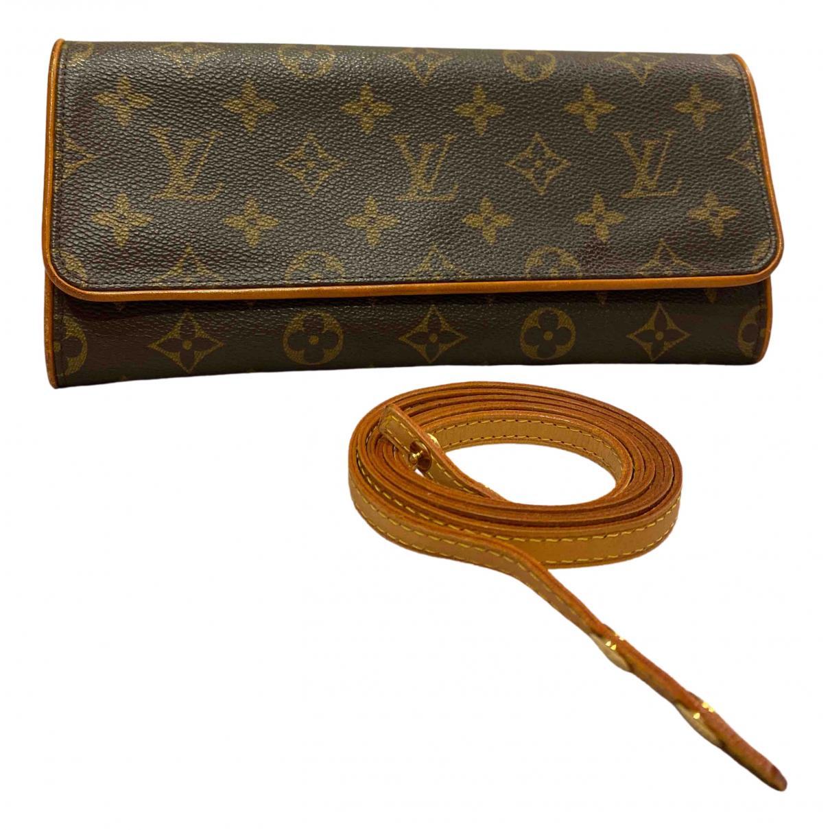 Louis Vuitton Florentine Brown Cloth handbag for Women \N
