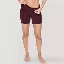 Vutru Sportliche Shorts mit weitem Tailleband und Netzstoff