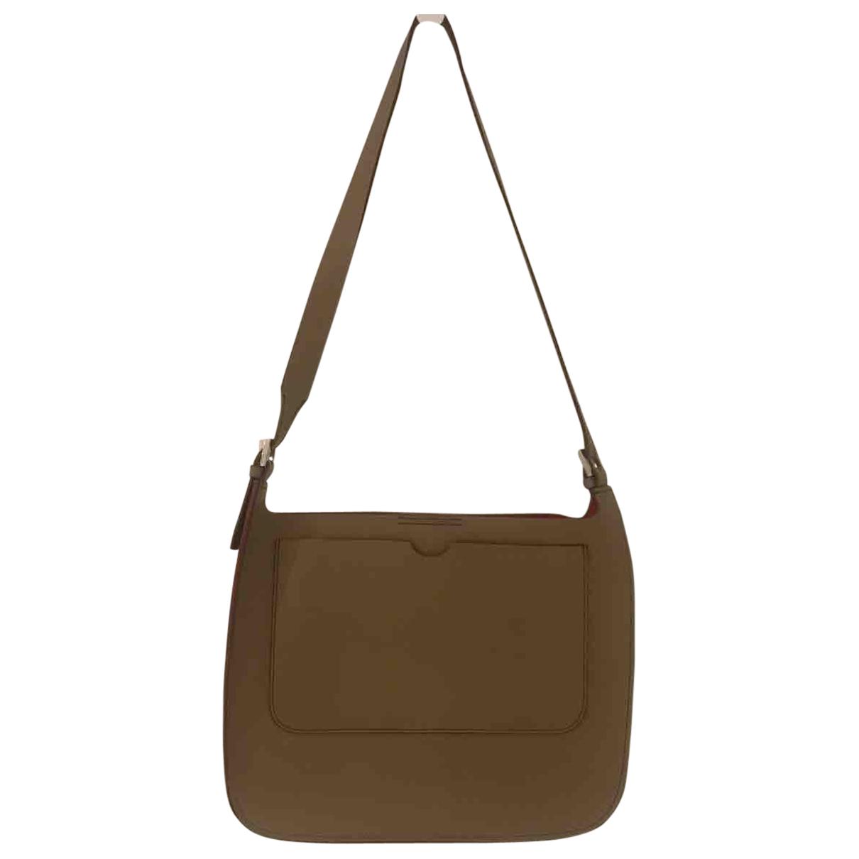 Bally N Beige Suede handbag for Women N