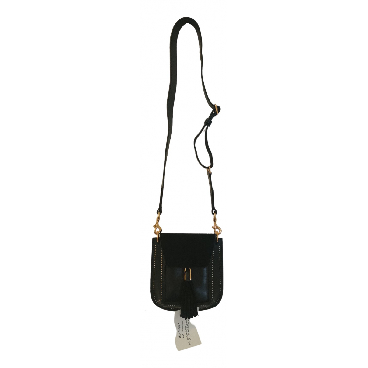 Isabel Marant N Black Leather handbag for Women N