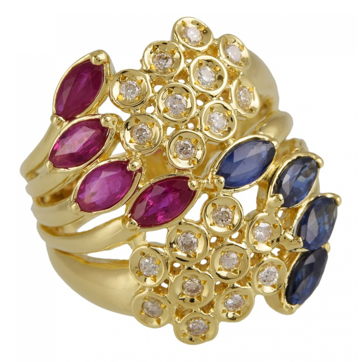 Non Signé / Unsigned \N Gold Yellow gold ring for Women 6 ¼ US