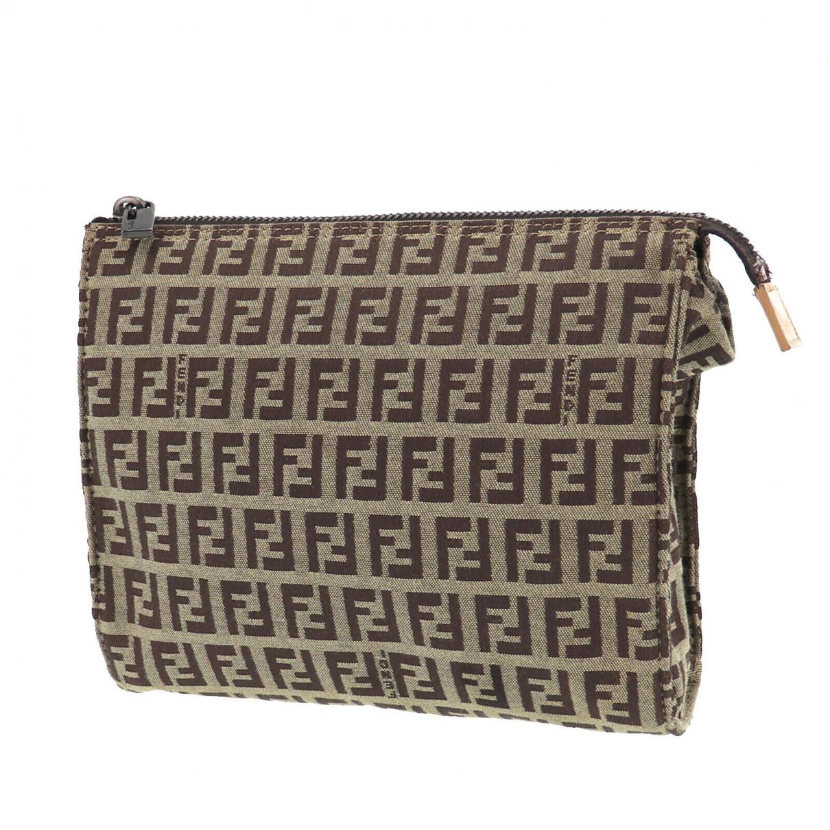 Fendi N Brown Leather Purses, wallet & cases for Women N