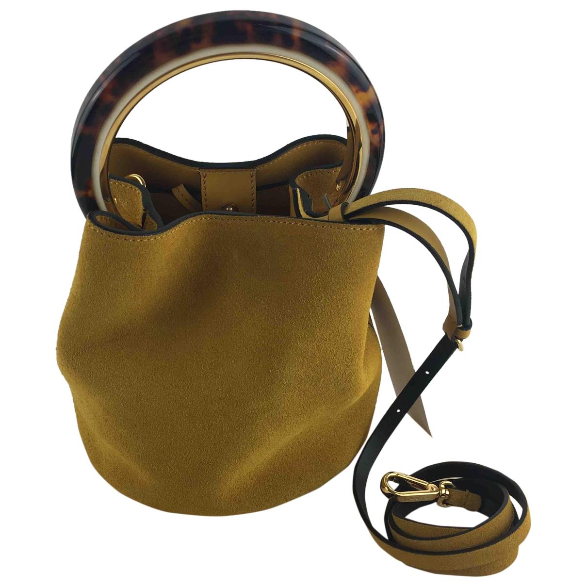 Marni Pannier Brown Suede handbag for Women \N