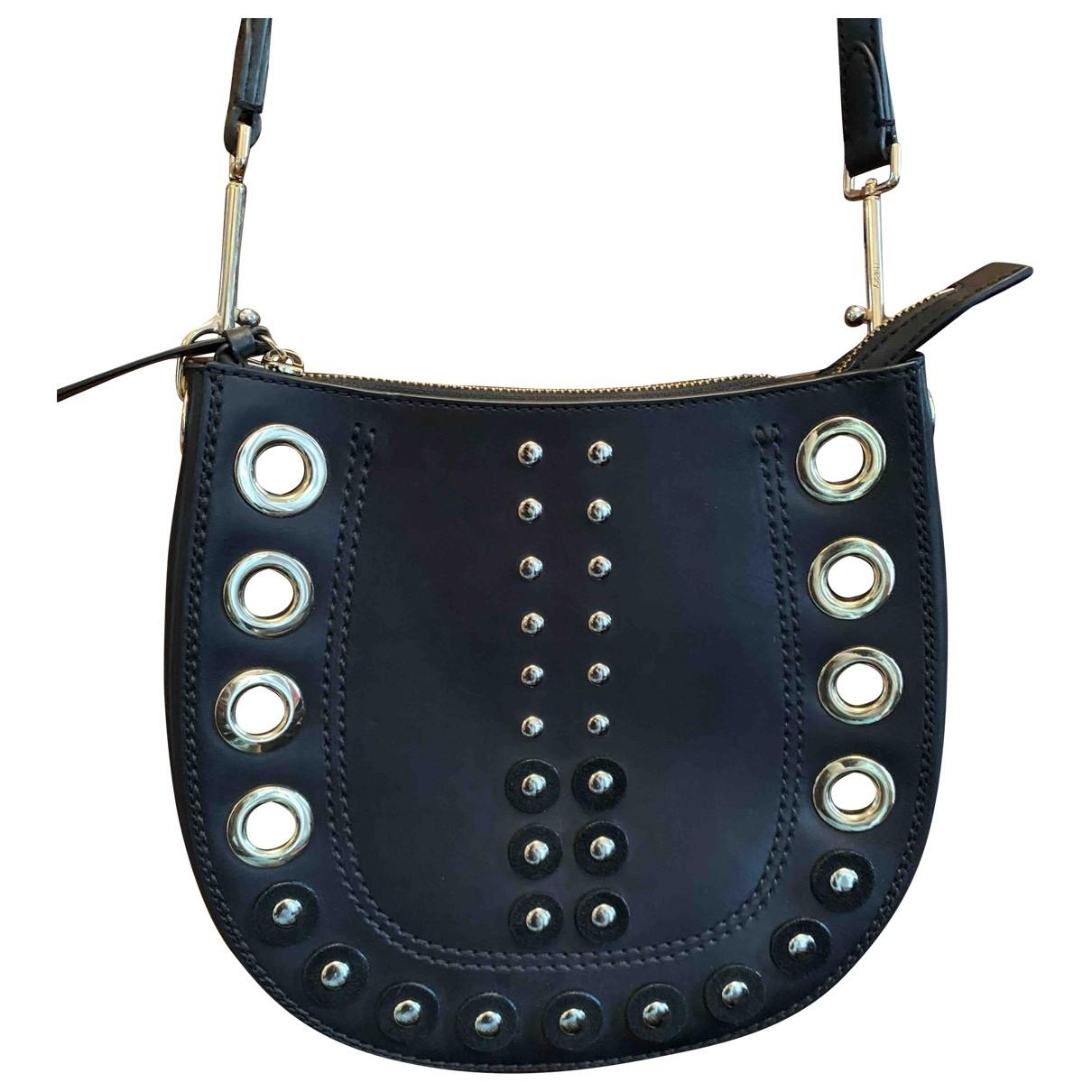 Theory \N Black Leather handbag for Women \N