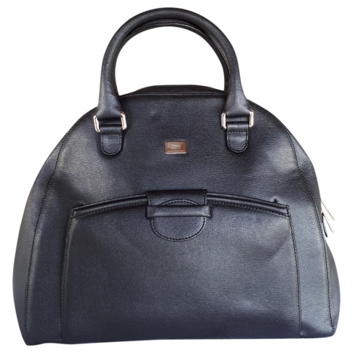 Armani Collezioni \N Black Leather handbag for Women \N