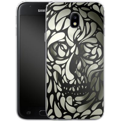 Samsung Galaxy J3 (2017) Silikon Handyhuelle - Skull von Ali Gulec