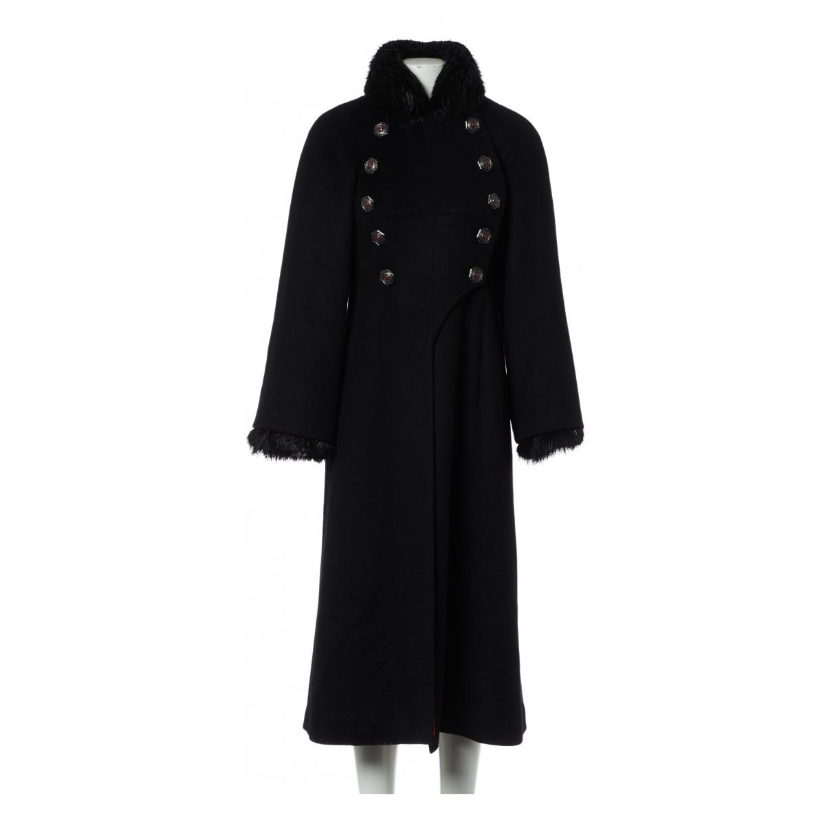 Chanel - Manteau   pour femme en cachemire - noir