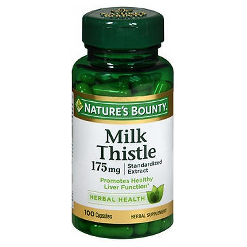 Nature's Bounty Milk Thistle 24 X 100 Caps by Nature's Bounty