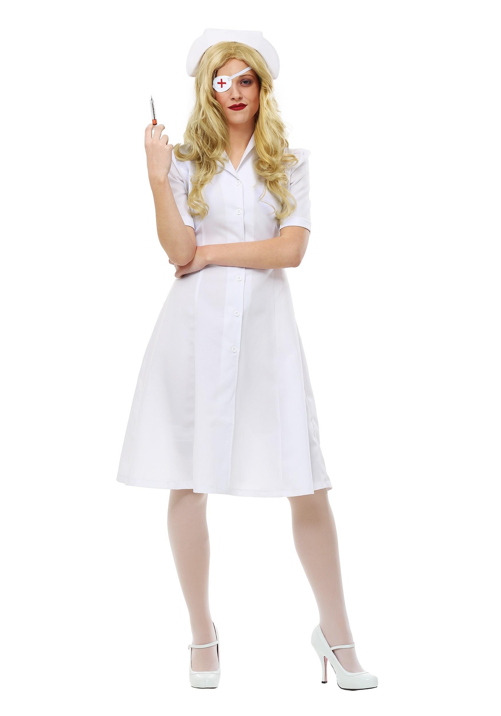 Elle Driver Nurse Costume from Kill Bill