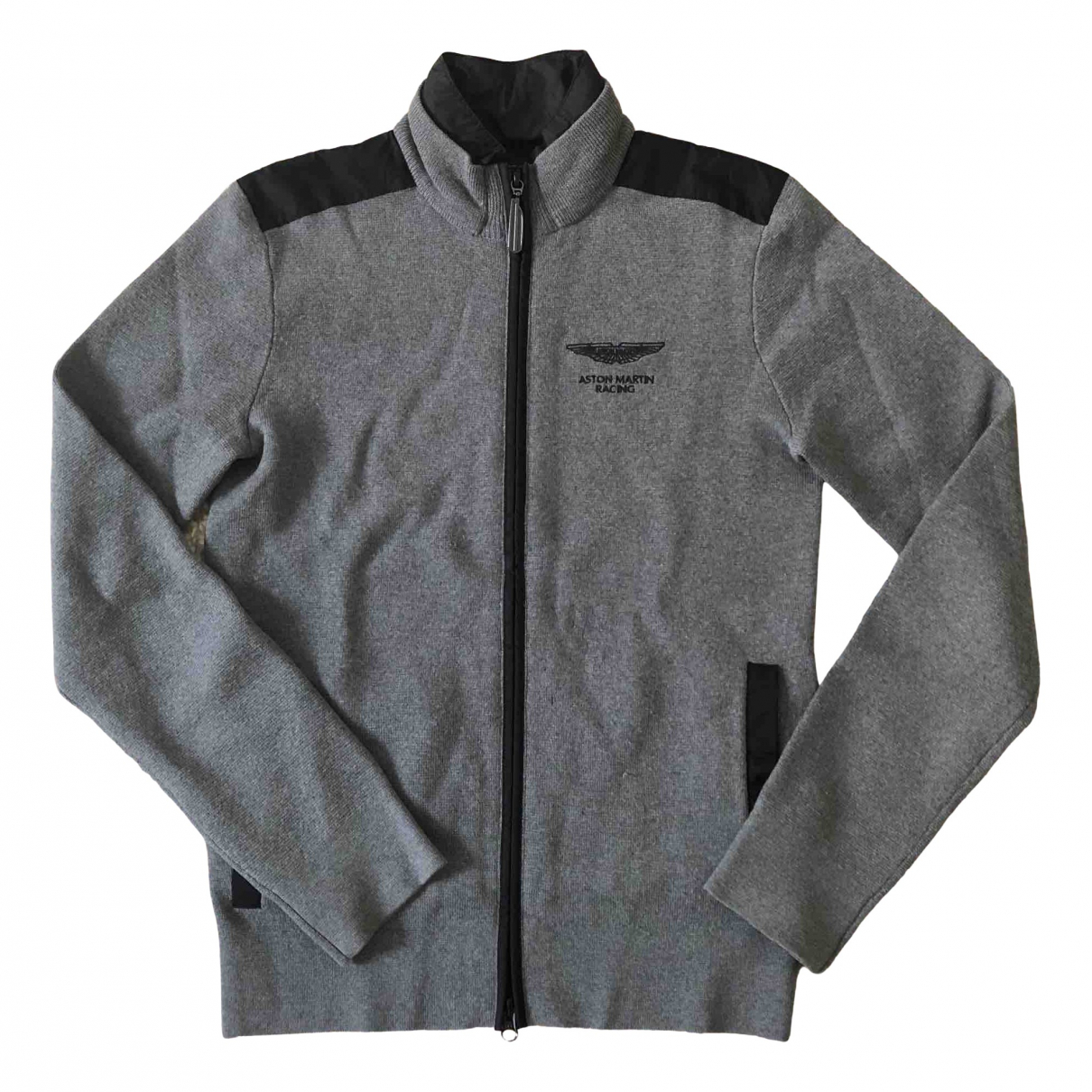 Hackett London \N Pullover.Westen.Sweatshirts  in  Grau Wolle