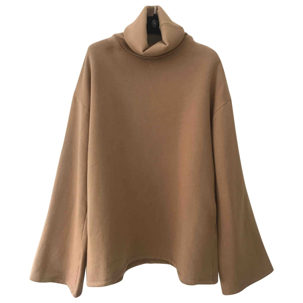Margaux Lonnberg - Pull   pour femme en coton - camel
