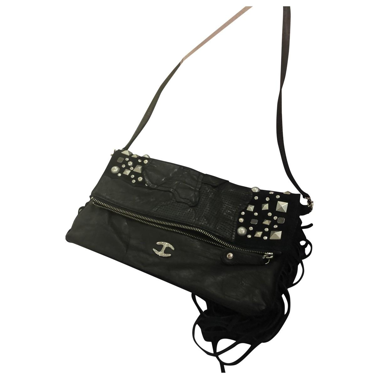 A Détacher \N Black Leather handbag for Women \N
