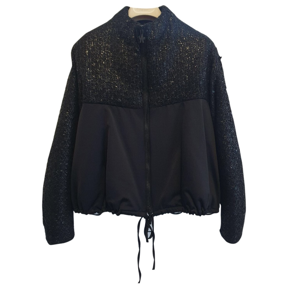 Moncler Gamme Rouge Black jacket for Women 2 0-5