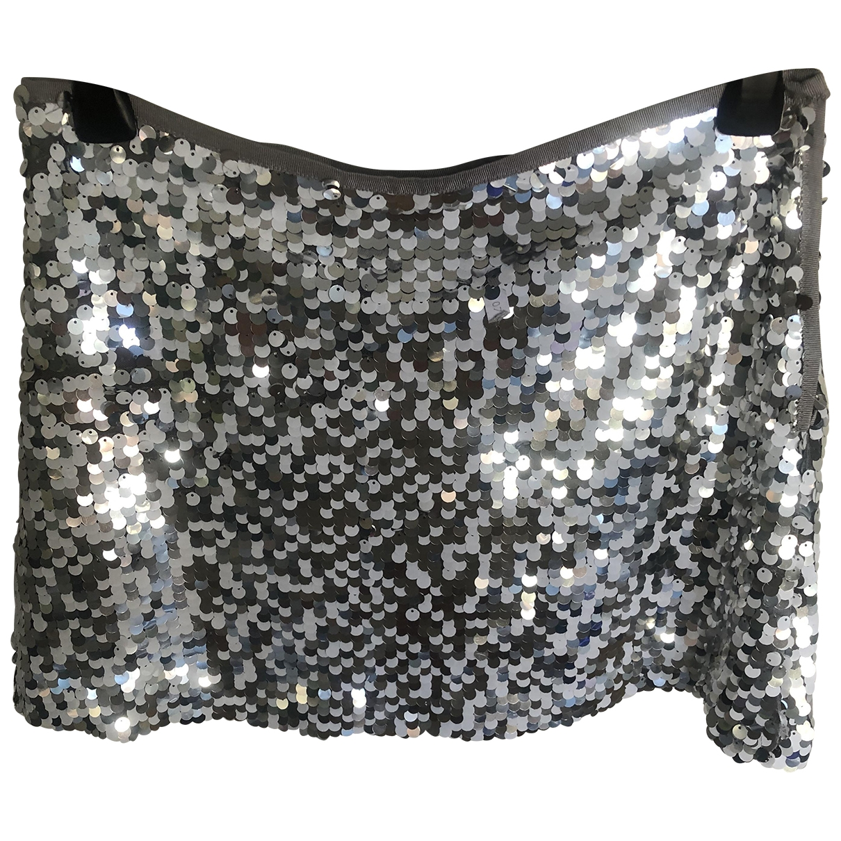 Zara \N Rocke in  Silber Polyester
