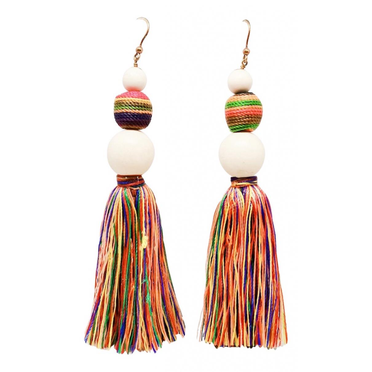 Rosantica - Boucles doreilles   pour femme en toile - multicolore