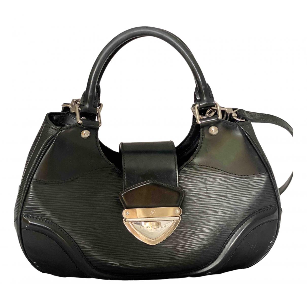 Louis Vuitton Beverly Handtasche in  Schwarz Leder