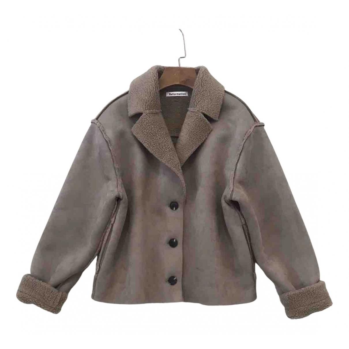 Reformation - Manteau   pour femme - marron