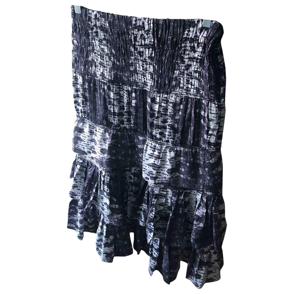 Falda midi de Seda Isabel Marant Pour H&m