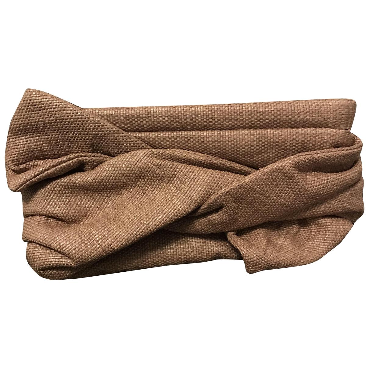 Paule Ka \N Pink Cloth Clutch bag for Women \N