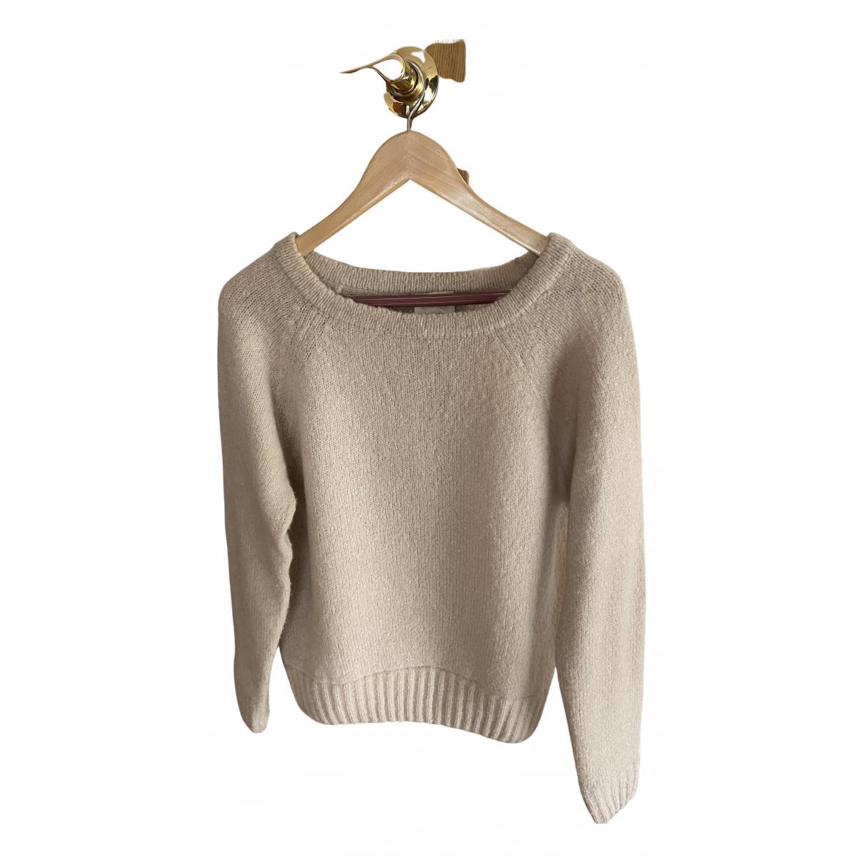 American Vintage \N Pullover in  Ecru Wolle