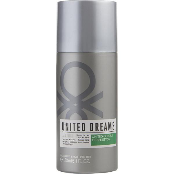 United Dreams Aim High - Benetton desodorante en espray 150 ml