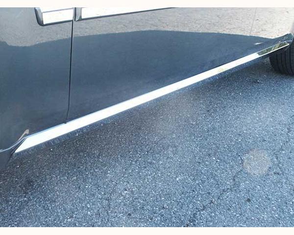 Quality Automotive Accessories 4-Piece Rocker Panel Accent Trim Kit Dodge Magnum 2008