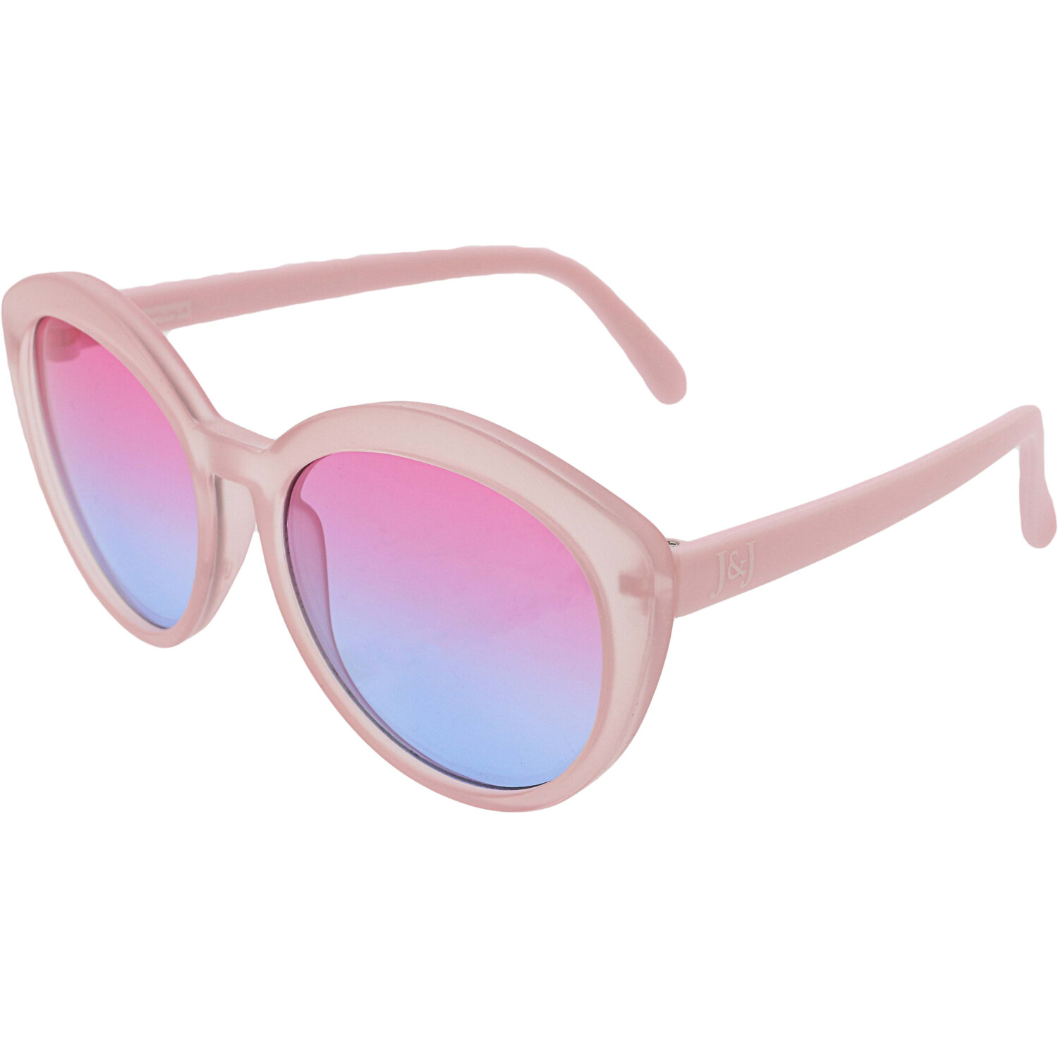 Janie And Jack Girl's Ombre Tinted Sunglasses 200385808 Pink Butterfly