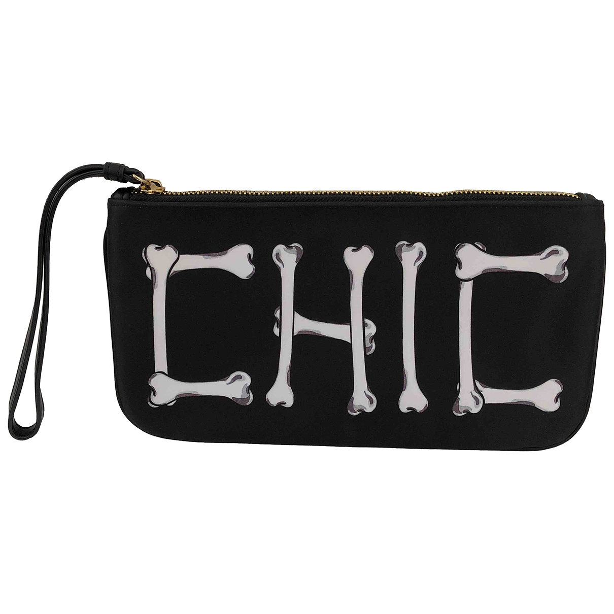 Moschino Cheap And Chic - Pochette   pour femme - noir