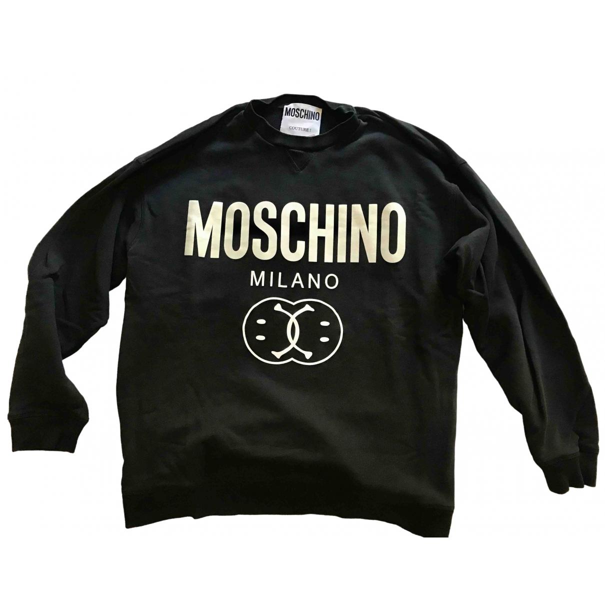 Moschino \N Black Cotton Knitwear & Sweatshirts for Men L International