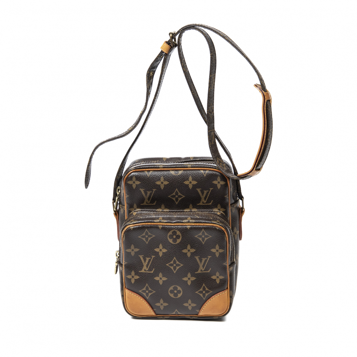 Louis Vuitton - Sac a main   pour femme en coton - marron