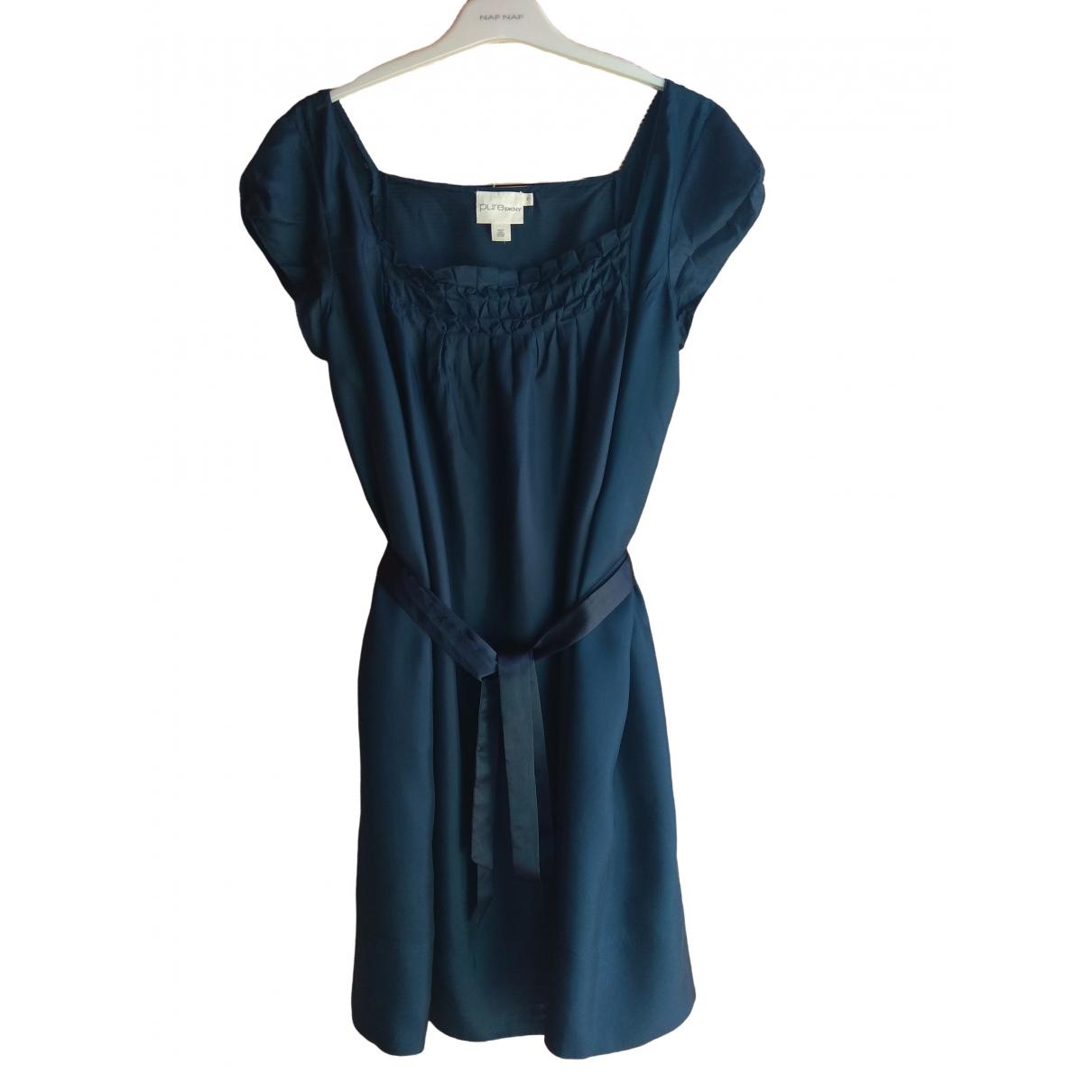 Dkny \N Navy Silk dress for Women M International