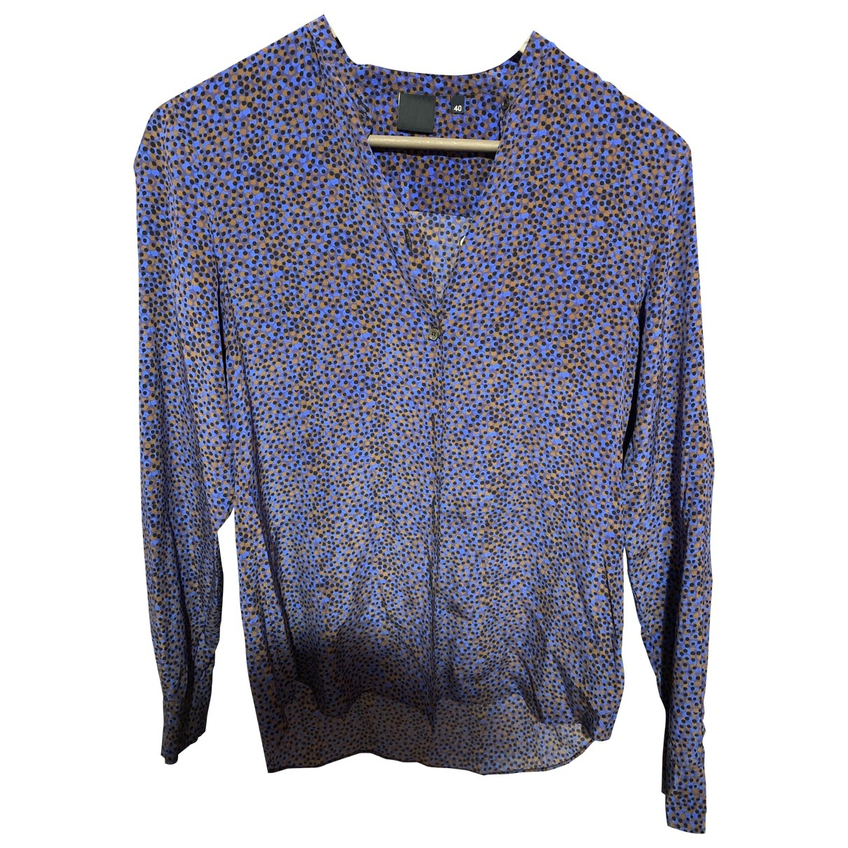 Aspesi - Pull   pour femme en soie - violet