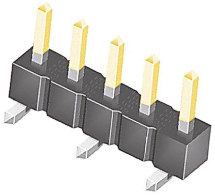 Samtec , TSM, 5 Way, 1 Row, Straight Pin Header