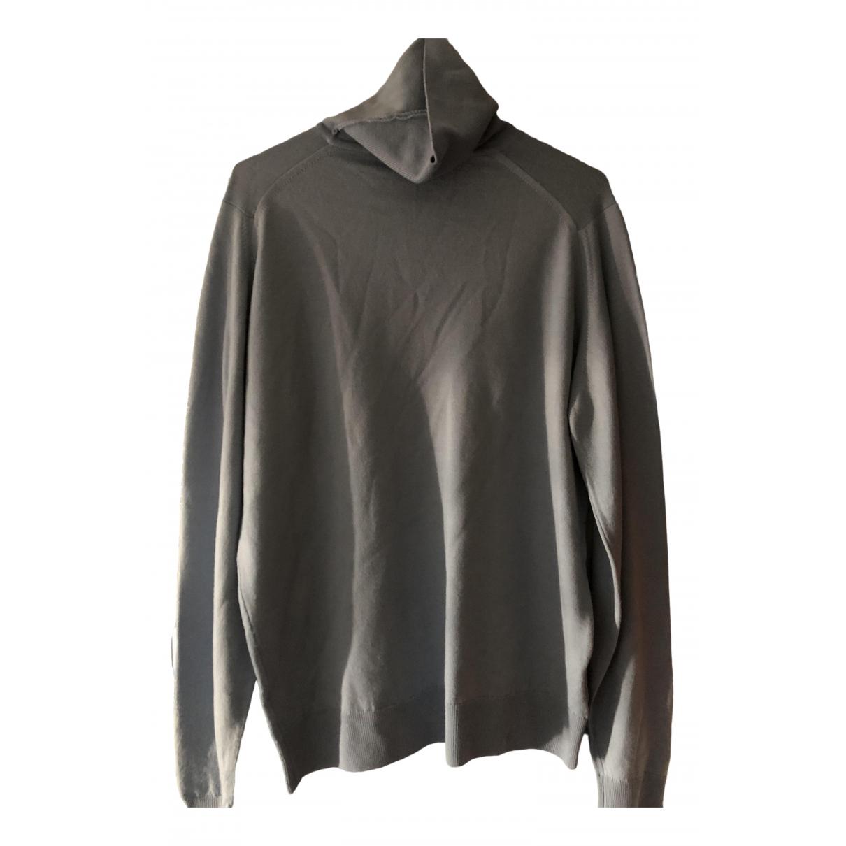 John Smedley \N Pullover.Westen.Sweatshirts  in  Blau Kaschmir
