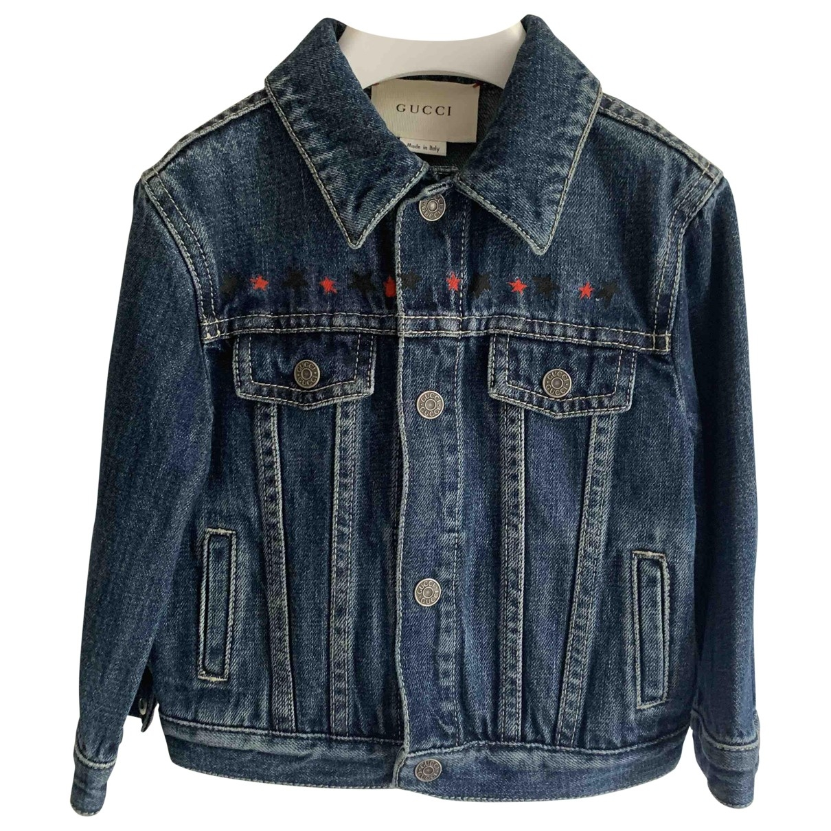 Gucci \N Jacke, Maentel in Denim - Jeans