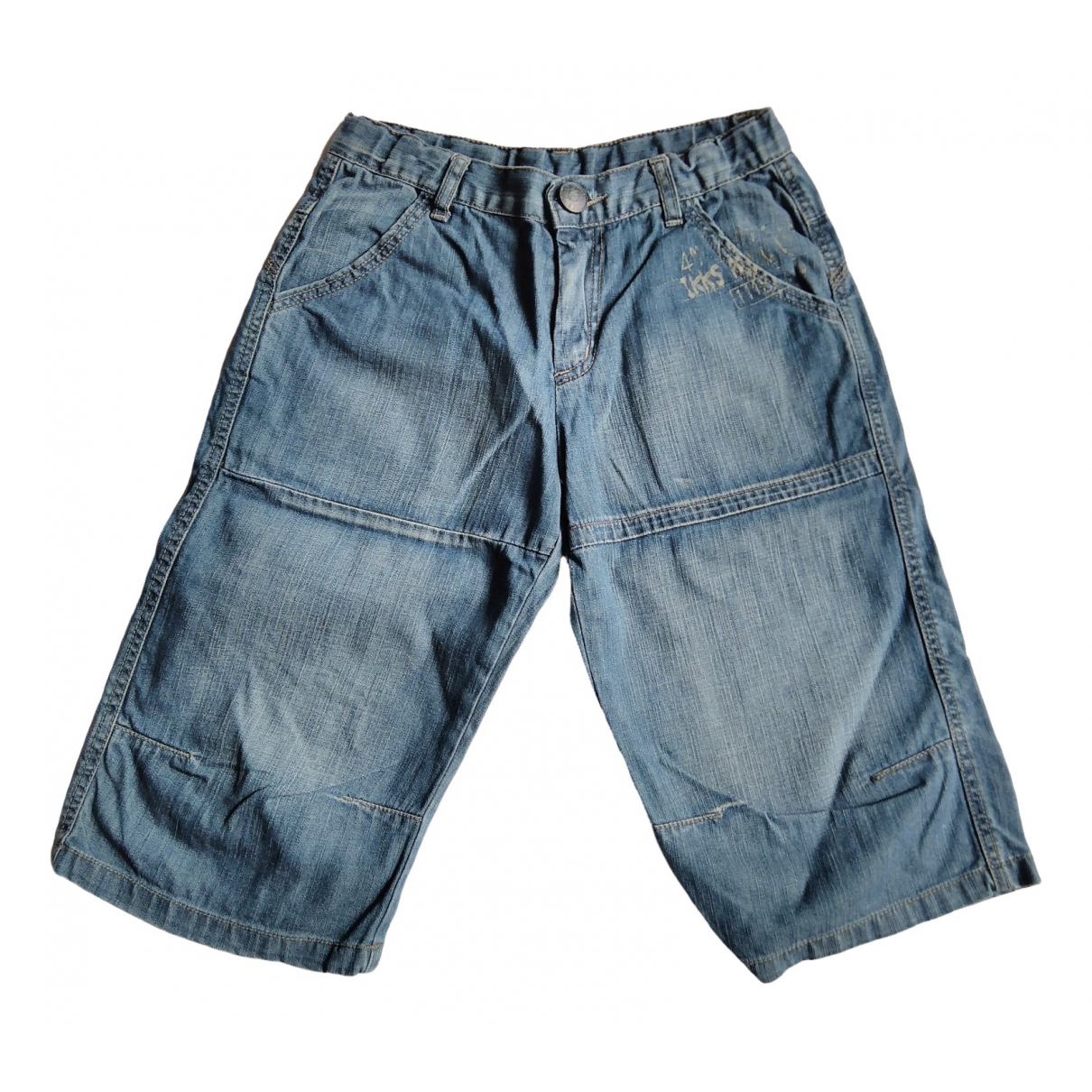 Ikks \N Shorts in  Blau Denim - Jeans