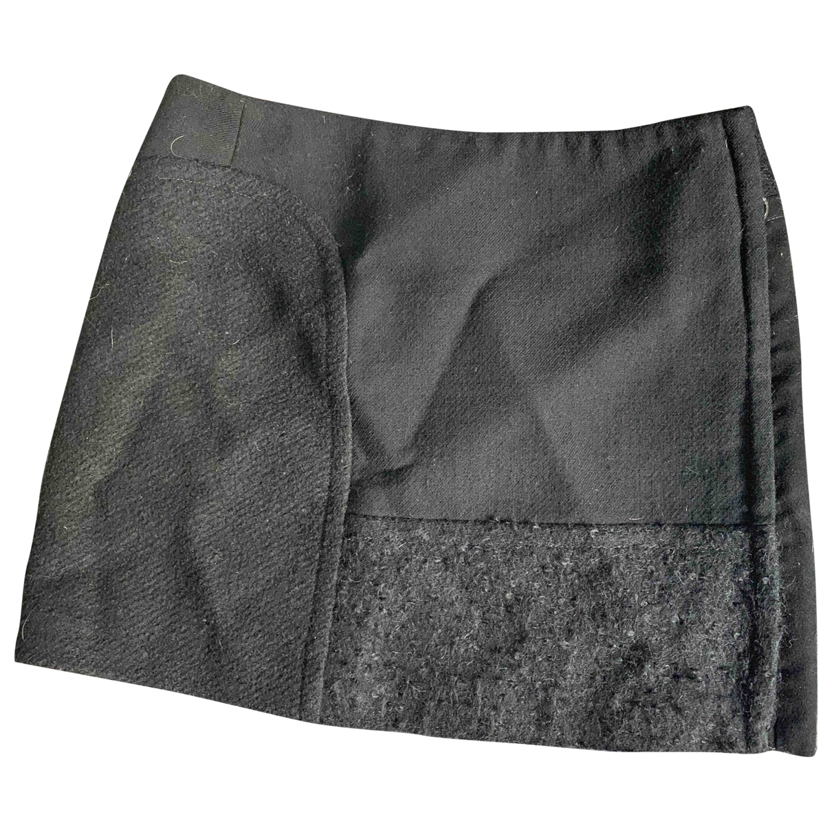Iceberg \N Black Suede skirt for Women 40 IT
