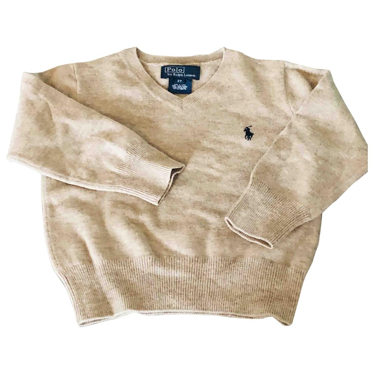 Moncler \N Oberteile in  Beige Wolle