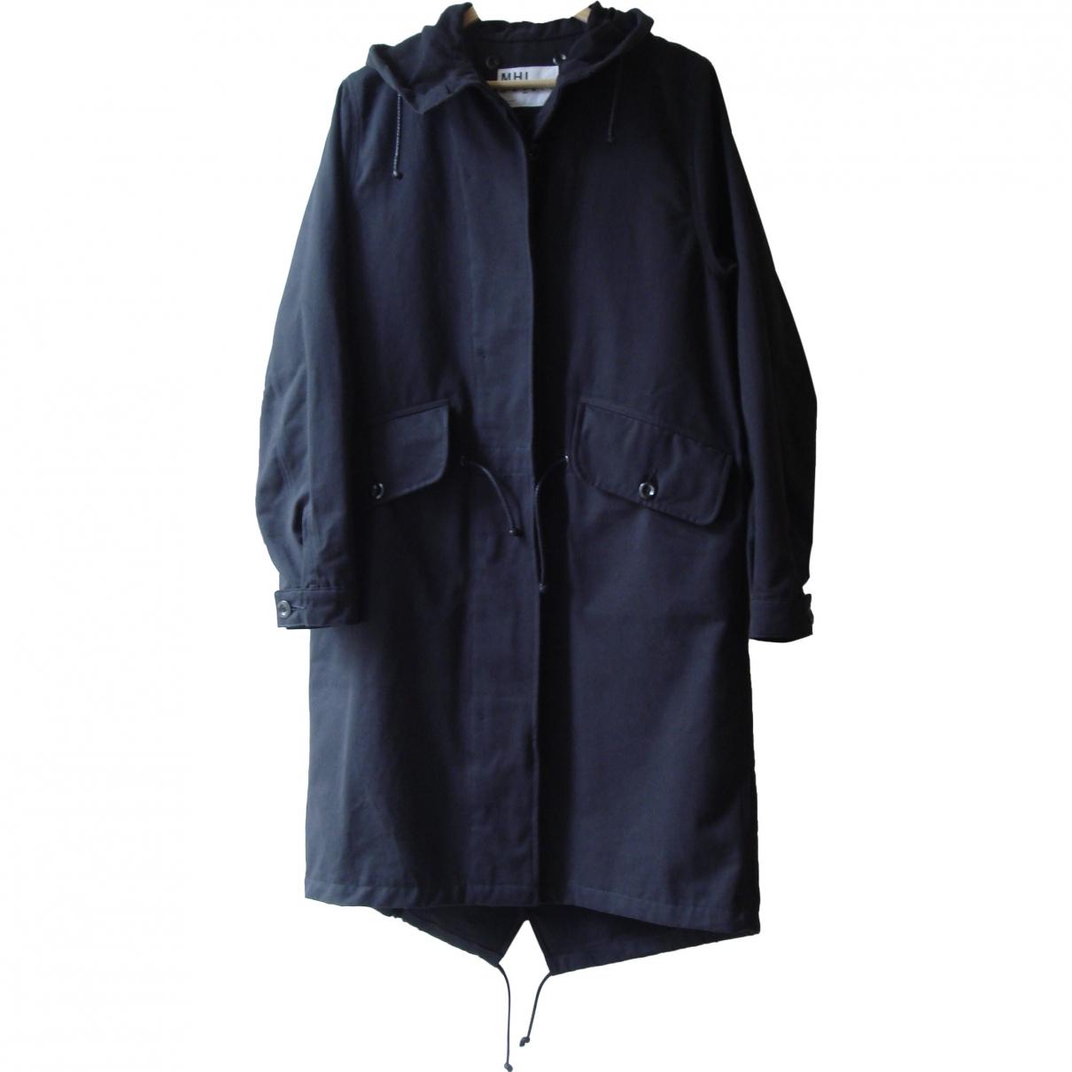 Margaret Howell \N Blue Cotton coat for Women S International