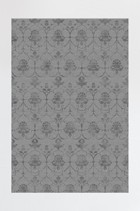 Washable Rug Cover   Leila Grey Rug   Stain-Resistant   Ruggable   6x9