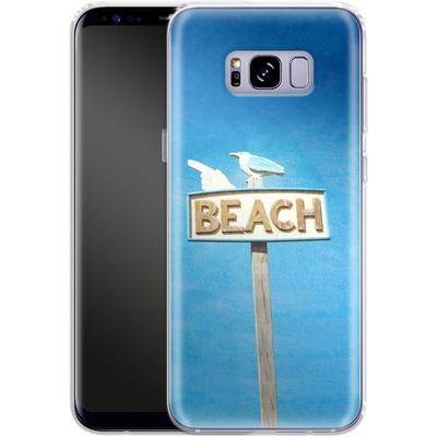Samsung Galaxy S8 Plus Silikon Handyhuelle - Beach von Joy StClaire