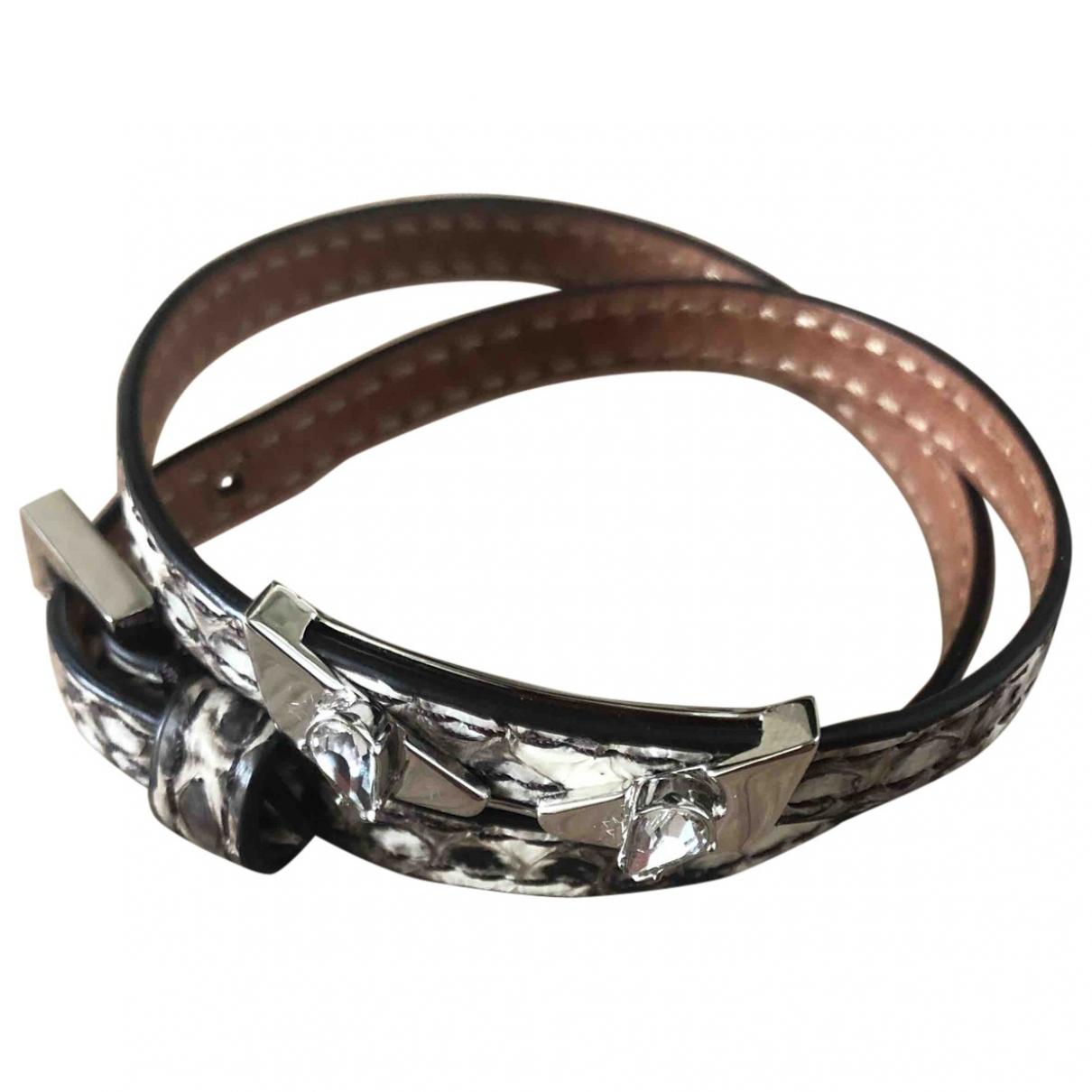 Fendi - Bracelet   pour femme en serpent deau - beige
