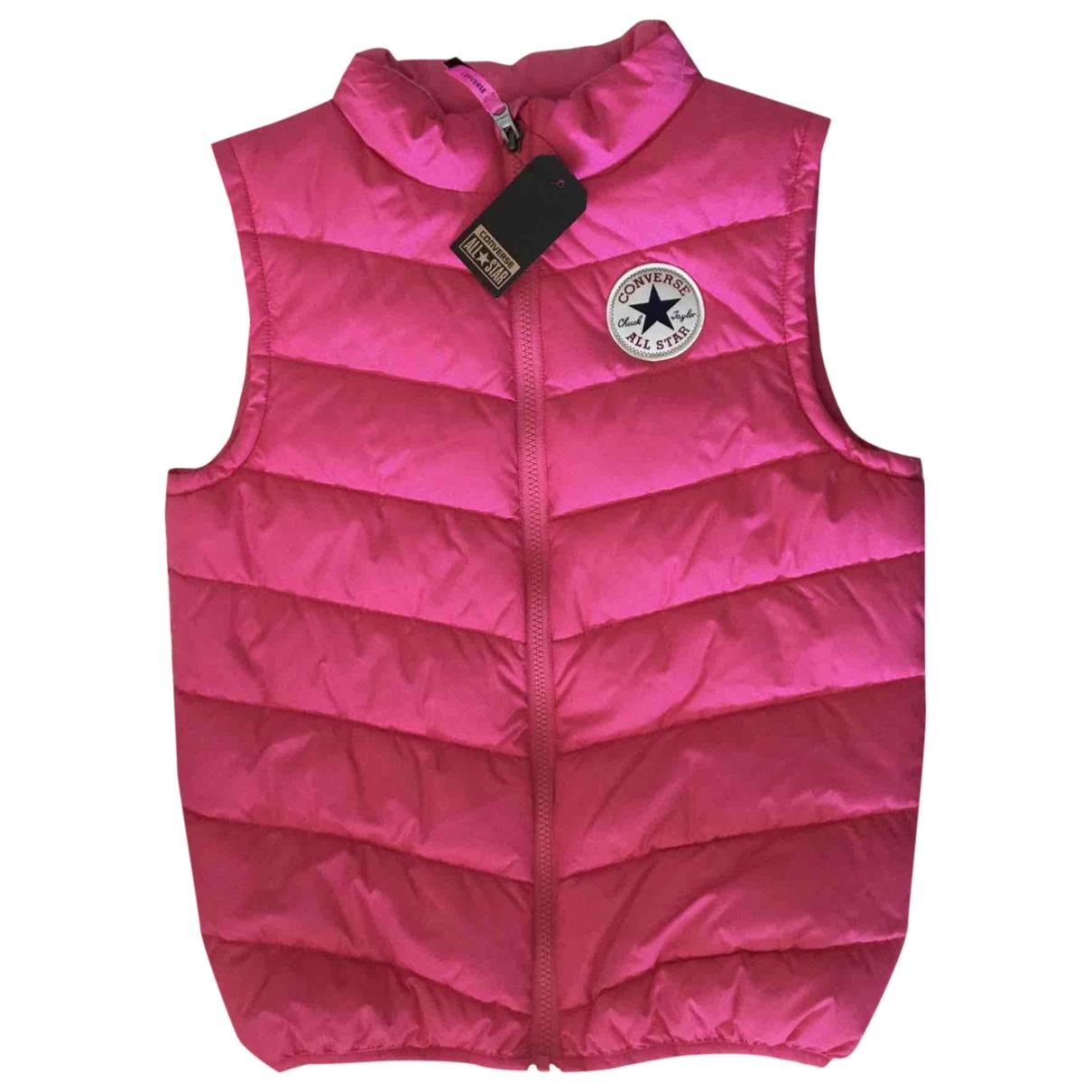 Converse - Blousons.Manteaux   pour enfant - rose