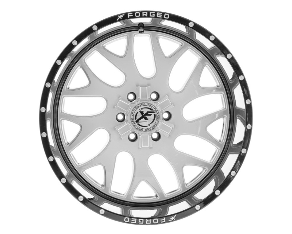 XF Off-Road XFX-301 Wheel 20x12 6x135|6x139.7 -44mm Gloss Black Brushed Face