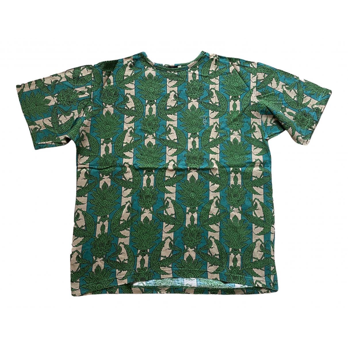 Trussardi - Tee shirts   pour homme en coton - vert