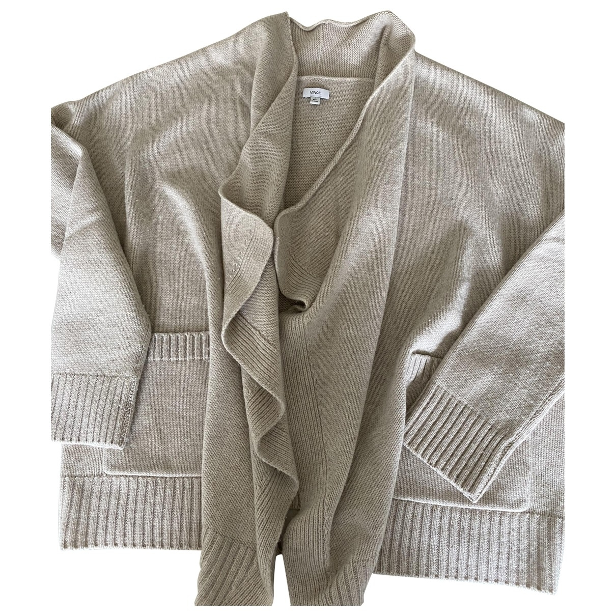Vince \N Pullover in  Beige Wolle