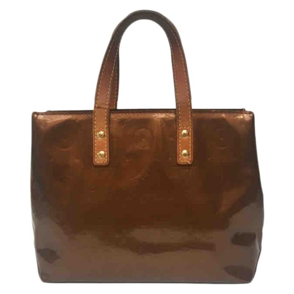 Louis Vuitton Reade Brown Patent leather handbag for Women \N
