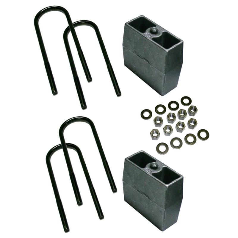 Superlift 9259 5 Rear Block Kit-99-10 F250/F350 w 3 7/8 Axle Tube & w/o Top Mounted Overloads Ford F-250 1999