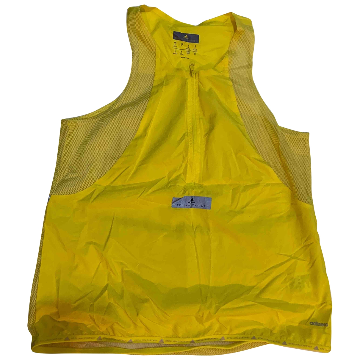 Stella Mccartney Pour Adidas \N Yellow  top for Women 8 UK