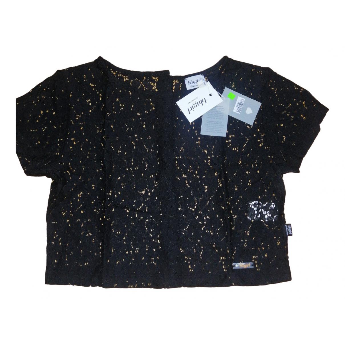 Blumarine - Top   pour femme en coton - noir
